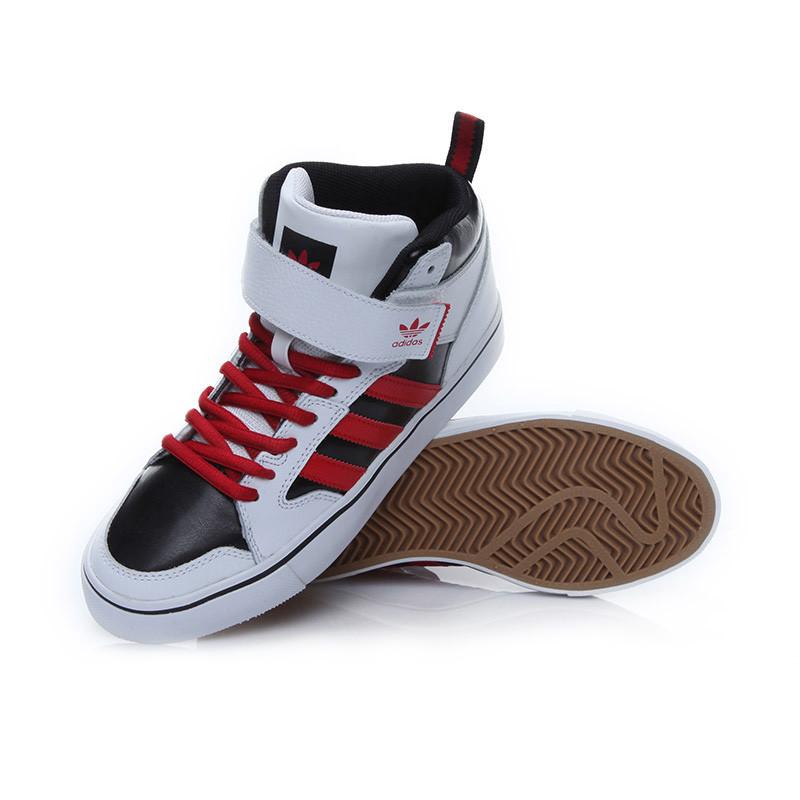 adidas阿迪达斯三叶草中性高帮休闲鞋b27411