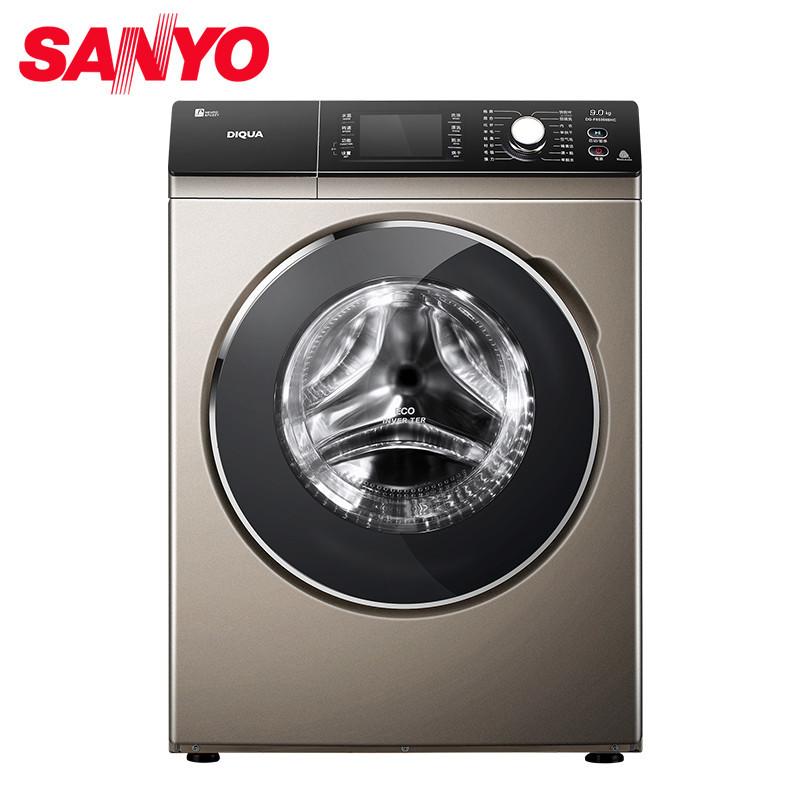 三洋(sanyo)9公斤wifi智能变频滚筒洗衣机dg-f90366big