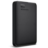 WD 西部数据 新E元素 Elements 2.5英寸 usb3.0 2tb移动硬盘2t WDBU6Y0020BBK