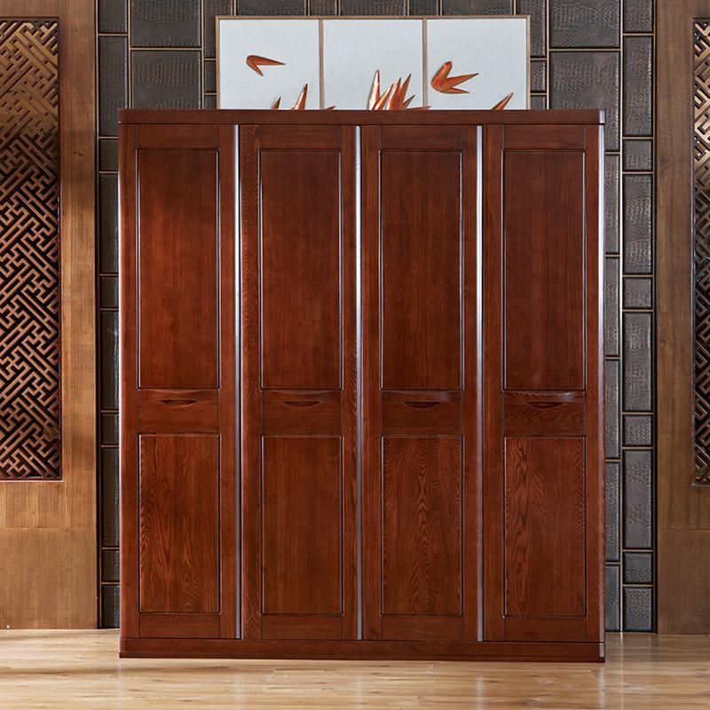 光明家具 全实木大衣柜