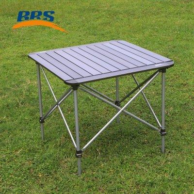 兄弟BRS-Z31可升降折疊桌戶外野餐桌自駕游燒烤鋁合金桌子