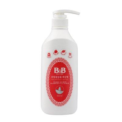 保宁B&B 奶瓶奶嘴液体型瓶装清洁剂 清洗剂 600ml