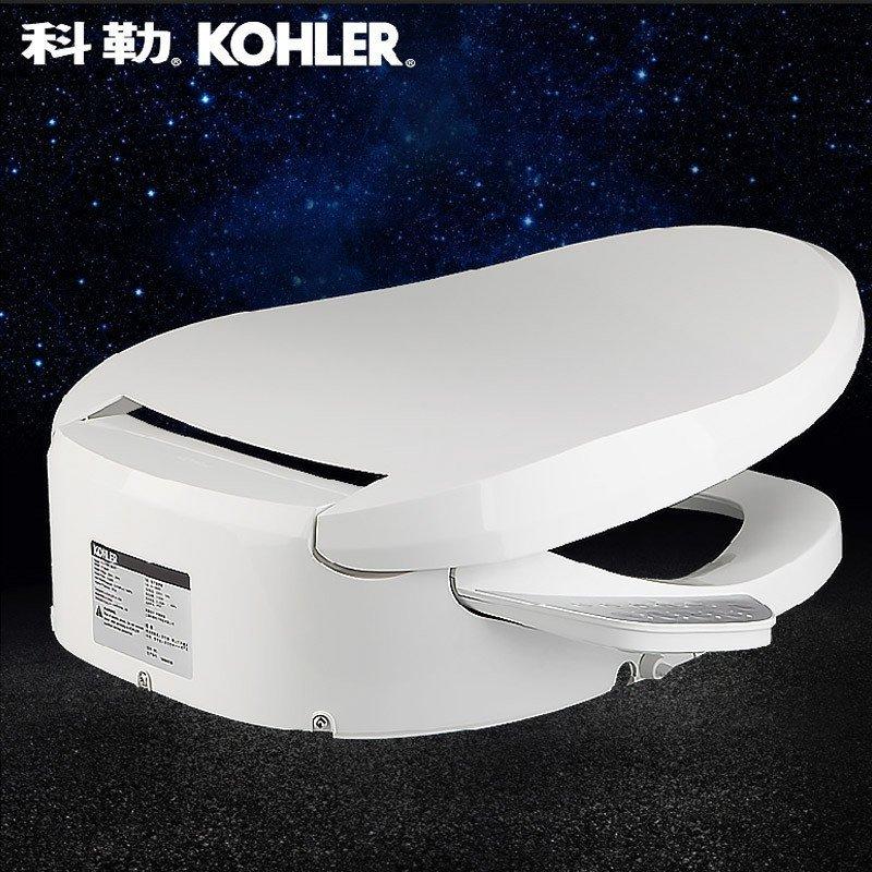 科勒智能马桶盖_科勒(kohler)马桶 智能坐便盖 智能马桶盖即热型智能座便器盖k-18649