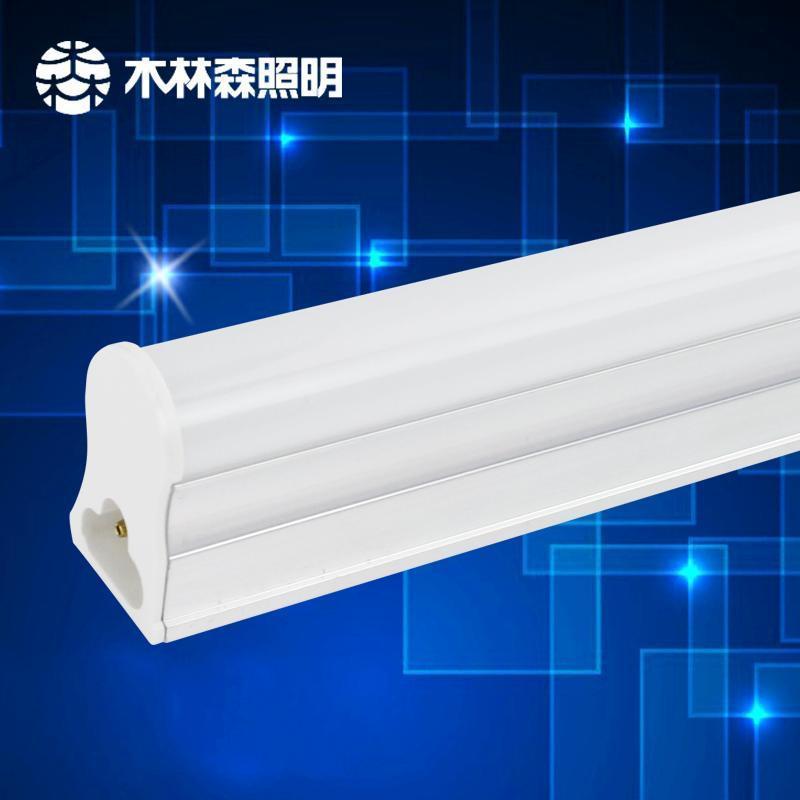 高亮度led二极_木林森led家装灯具照明t5一体化高亮度客厅超市仓库日光灯管0.9m 冷白