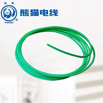 熊貓電線 BV1.5平方 (綠色每米) 零剪定制線 單芯銅線 照明線插座線 家用電線 電纜 電線銅芯