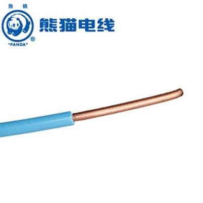 熊貓電線 BV4平方 (藍色每米) 零剪定制線 單芯銅線 空調線 家用電線 電纜