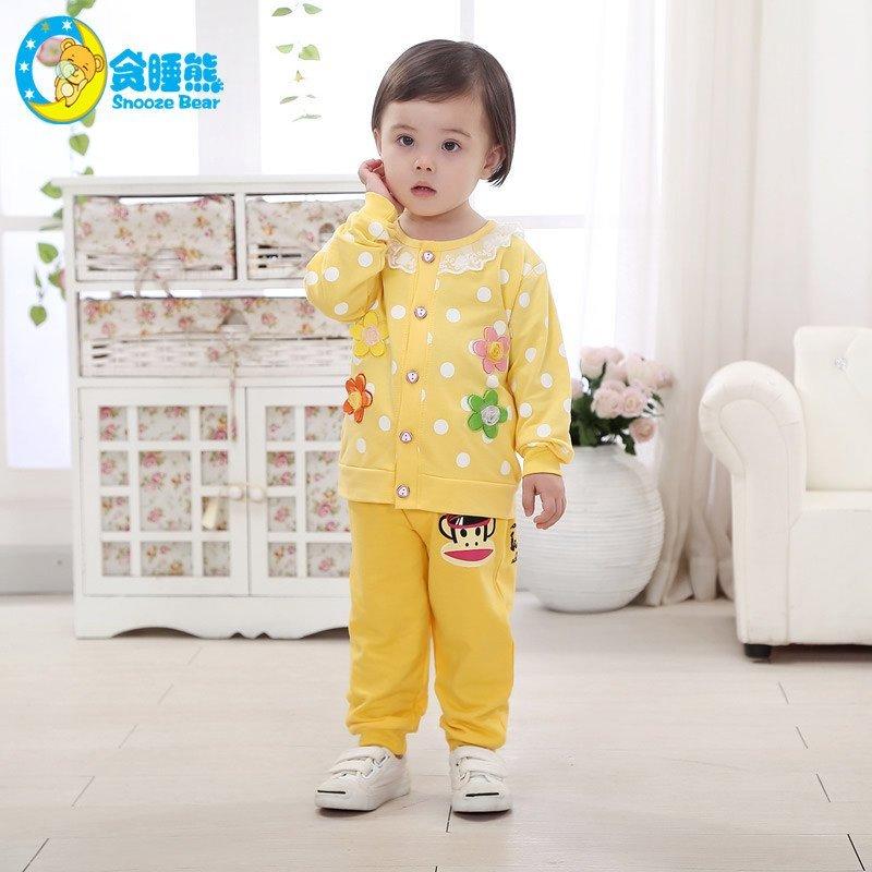 秋款童装女童可爱长袖上衣服外套婴幼儿童开衫0-1-2-3