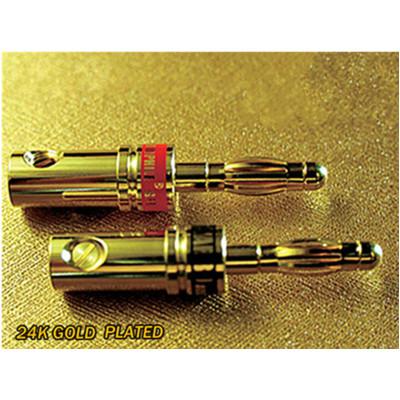 雅堡(YARBO) SC-03B-L 鍍金香蕉頭 香蕉端子音箱接頭 18元/個