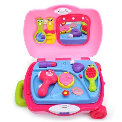 汇乐旅行箱工具箱男孩女孩玩具套装 儿童过家家玩具 小公主旅行箱