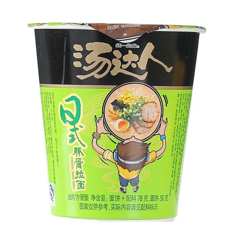统一企业 汤达人拉面方便面 味增/酸酸辣辣/海鲜/日式