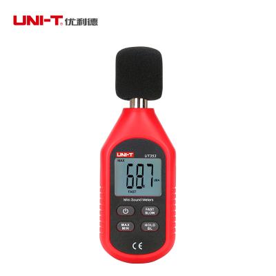 優利德(UNI-T) UT353 迷你型噪音計 噪音儀 分貝儀 聲級計