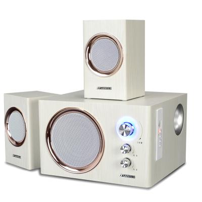 Sansui/山水 GS-6000(21A)藍牙音響臺式電腦音響低音炮2.1筆記本低音炮電視音響多媒體木質音箱