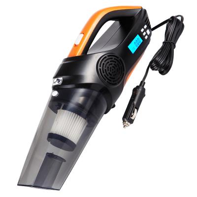 尤利特(UNIT)多功能车载吸尘器充气泵一体机车用大功率汽车吸尘器干湿两用数显汽车轮胎打气泵12V