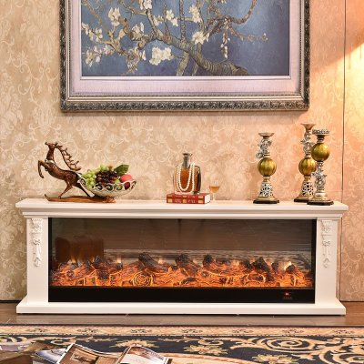 帝轩名典 1.8米欧式壁炉 美式电壁炉架电视柜壁炉 装饰取暖炉芯