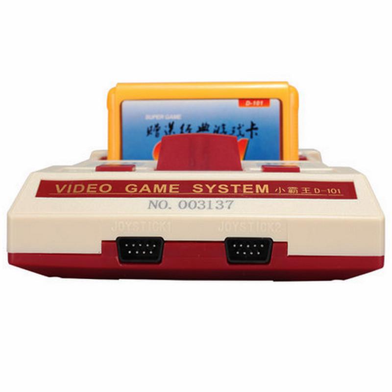 小霸王d101电视游戏机 双人手柄游戏机配400合一游戏卡