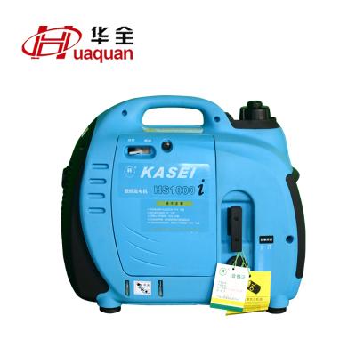 华全小型家用1kw汽油发电机 单相数码变频1kw汽油发电机 220V单相手启动便携式汽油发电机