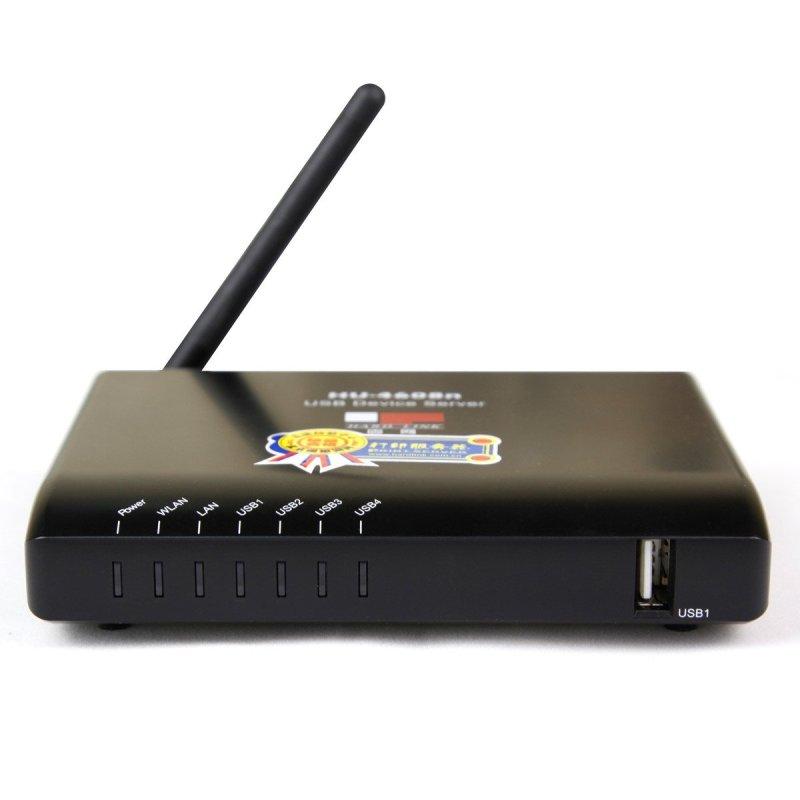 固!n{����_固网(hardlink)hu-4608n 无线usb多功能网络打印服务器共享器无线设备