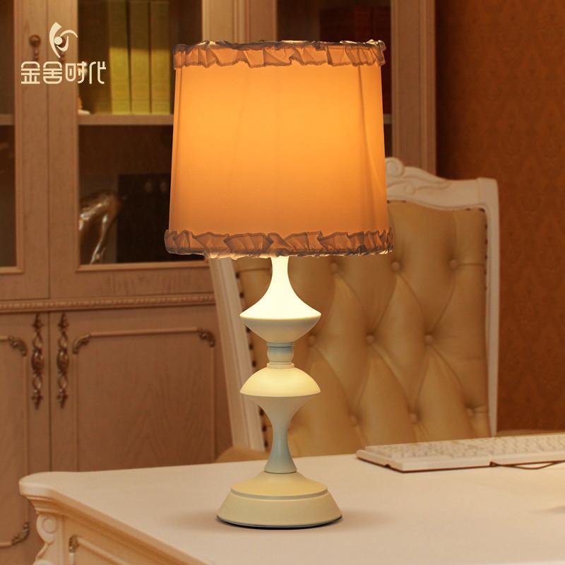 金舍时代 美式乡村温馨客厅台灯 简约创意卧室床头灯