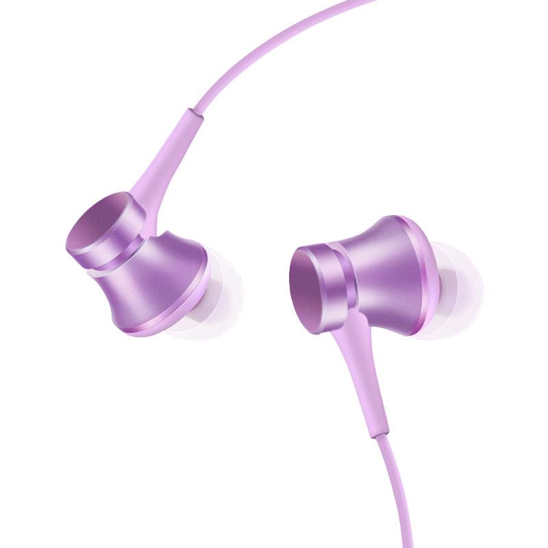 Xiaomi\/小米 小米活塞耳机清新版 紫色 入耳式