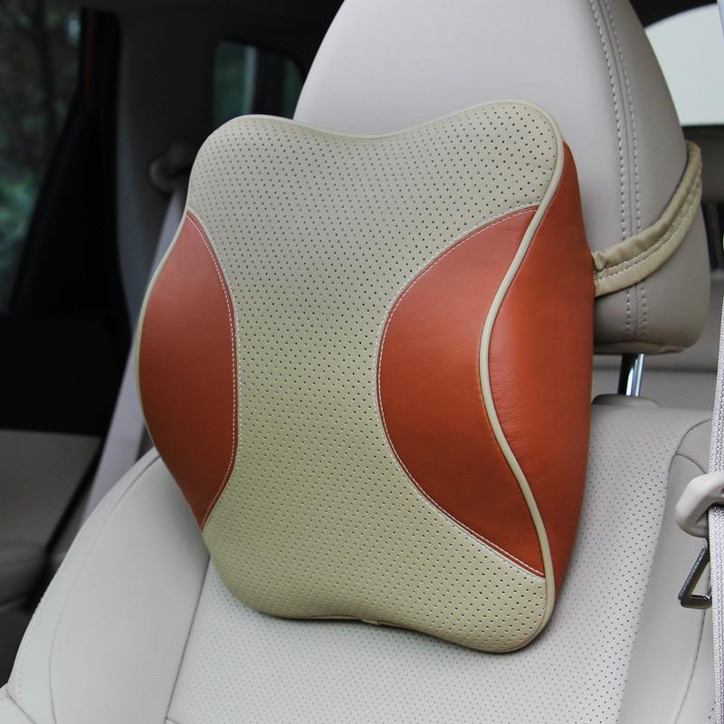 麦车饰 汽车头枕颈枕记忆棉 车用护颈枕车载靠枕 汽车