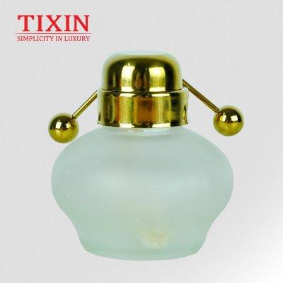 TIXIN/梯信 酒精灯 皇家比利时咖啡壶专用 含灯盖 比利时壶配件 金色