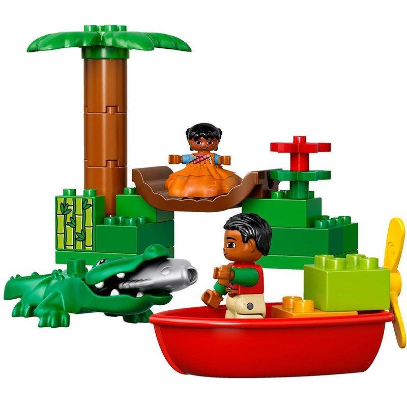 乐高得宝/lego duplo丛林动物 l10804 大颗粒积木玩具