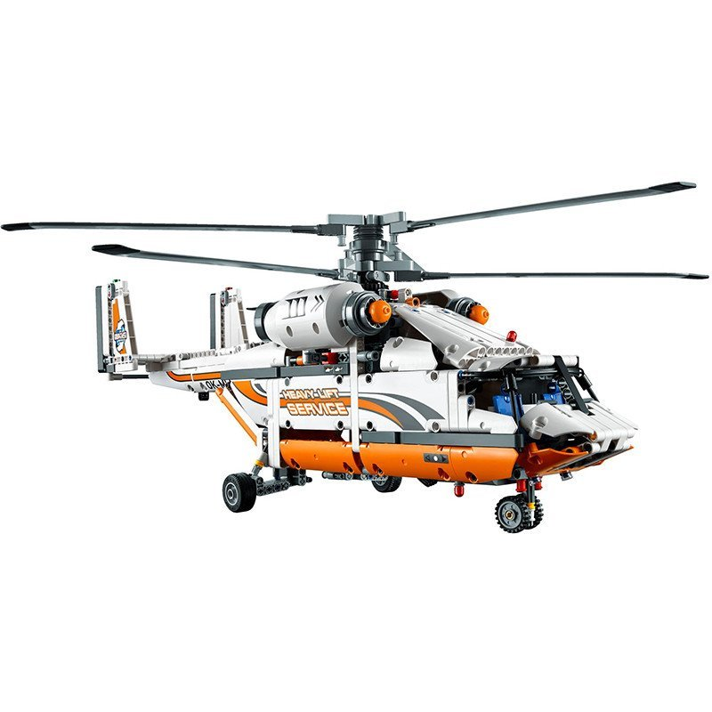 乐高科技机械组lego technic高负重直升机l42052拼插积木玩具