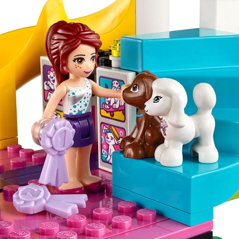 lego乐高好朋友系列l41300宠物狗锦标赛作文年级积木四塑料玩具我喜爱的玩具图片