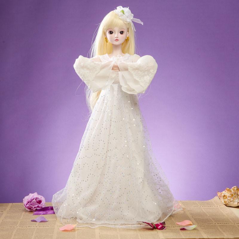 全关节可动芭比娃娃创意服饰设计套装夜萝莉礼盒搭配大礼盒叶罗丽卡通