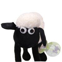 卡通小羊肖恩公仔毛绒玩具肖恩羊玩偶小绵羊情侣布娃娃节日礼物 白色图片