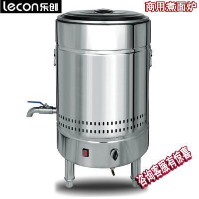 樂創/lecon-45不銹鋼煮面爐電熱商用煮面桶燃氣節能雙層保溫爐湯面爐麻辣燙機湯鍋