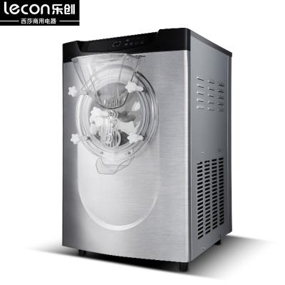 lecon/乐创商用冰淇淋机硬质冰激凌机新款雪糕机冰激凌机商用全自动台式