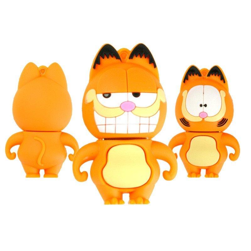 【加菲猫a款8g】 绎美 创意礼品 卡通u盘 可爱卡通动漫创意迷你个性