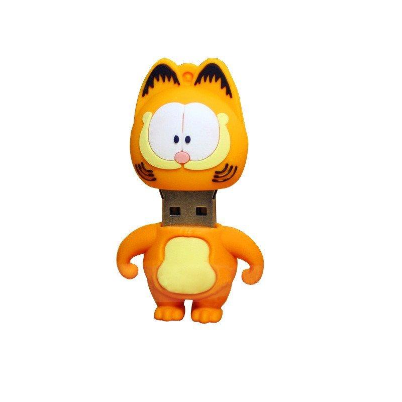 【加菲猫c款 32g】 绎美 创意礼品 卡通u盘 可爱卡通动漫创意迷你个性