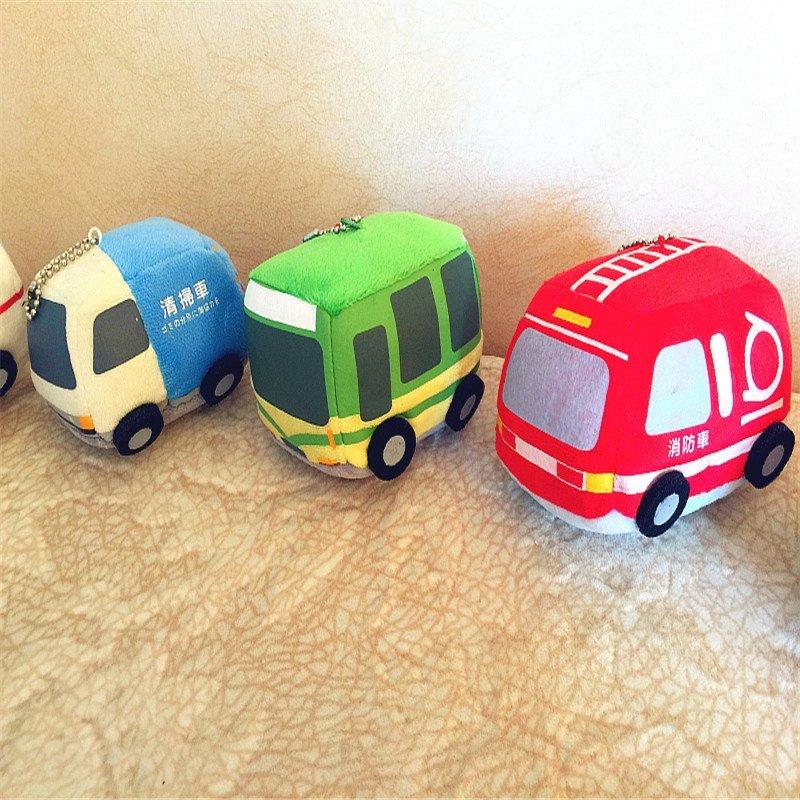 梦妙天使 手工小汽车宝宝新生儿婴儿警车 消防车 玩具
