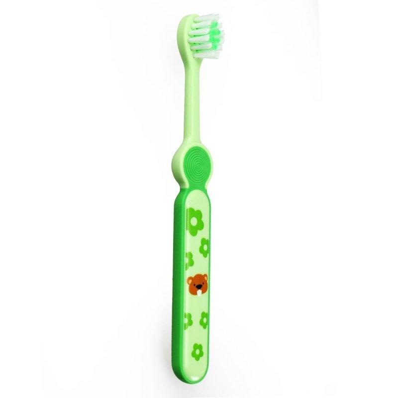 小树苗快乐成长儿童牙刷婴儿牙刷 (2-4岁)_绿色tb000109