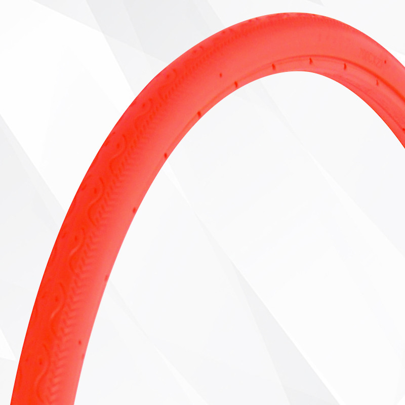 osagie公路车自行车免充气实心轮胎胎彩色车胎