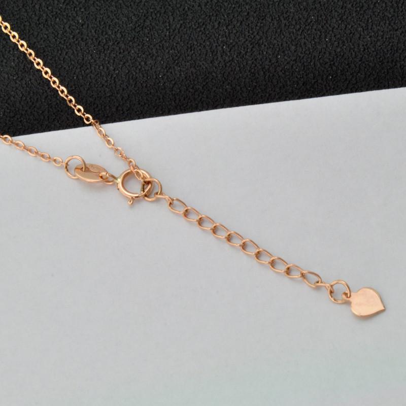 尊爵珠宝 太阳之星 红18k金/彩金套链/项链 时尚玫瑰金色