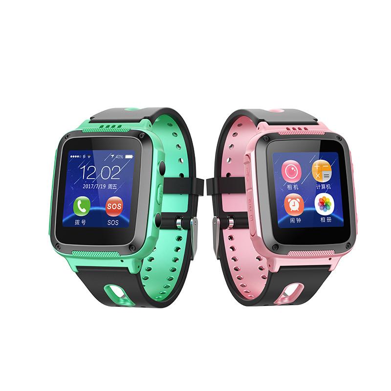 小�9�(9�d_天才小d四代防水儿童智能手表高清彩屏可微聊 一键求救s4