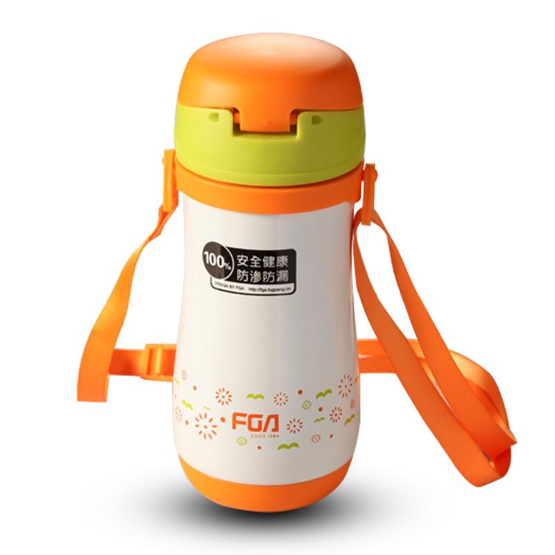 富光儿童保温杯 吸管便携防漏真空可爱不锈钢防漏学生