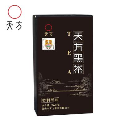 【送茶刀,贈品不疊加】陳年古黟黑茶760g黑茶茶磚 磚茶 古法制作 安徽茶葉