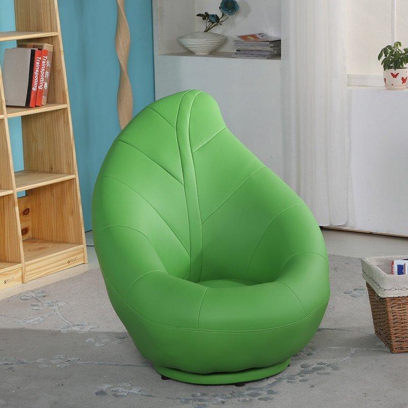 蔓斯菲尔 树叶沙发凳 创意卧室懒人沙发 中号 单人皮树叶 沙发阳台