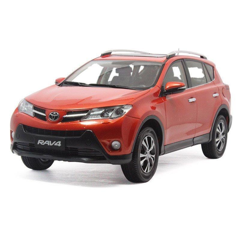 原厂 一汽丰田 全新rav4 toyota 2014新款 多色 1:18 汽车模型 模型