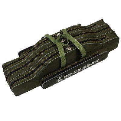 刀客90cm正品80cm海竿大肚子包专用包渔具包垂钓用鱼具包牛津布专业渔具