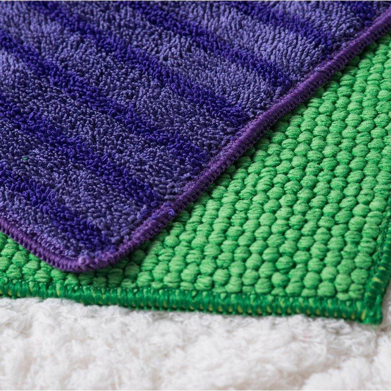 正品久丽 平板拖把布地板抹布擦地巾拖布替换布平板拖把抹布配布1片