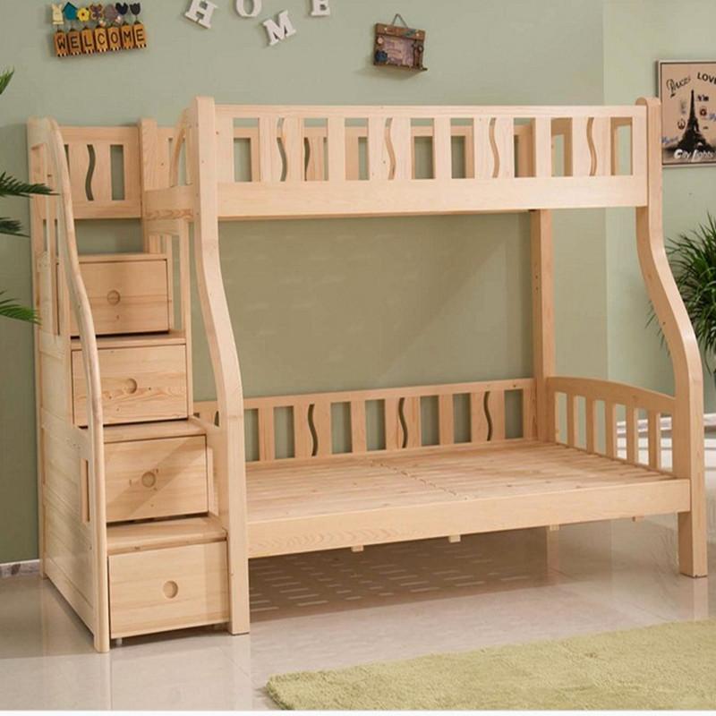 双层床儿童床木架床