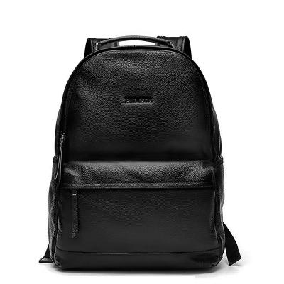 青年韩版真皮双肩包男士背包大容量旅行中学生书包男时尚潮流男包旅行包