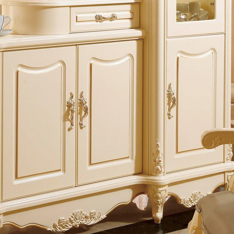 法莉娜 欧式客厅双面隔断柜 玄关门厅柜 法式酒柜间厅