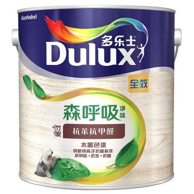 多樂士(dulux) 森呼吸凈味竹炭抗甲醛全效木器漆 白色底漆