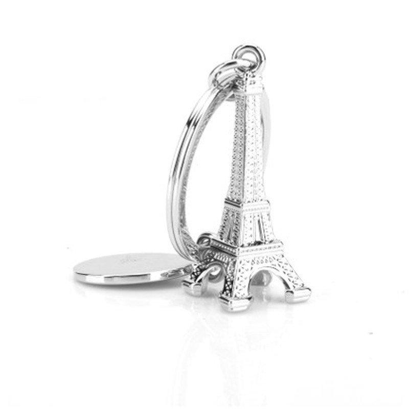 巴黎铁塔模型钥匙扣仿真迷你钥匙链创意礼品钥匙圈小